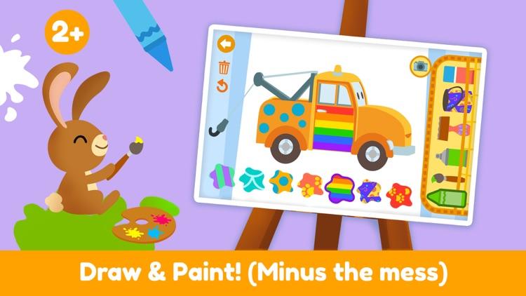 Car City - Kids Coloring Book