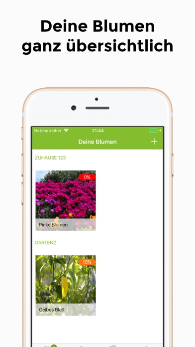 Screenshot for Blumengiessen in Germany App Store