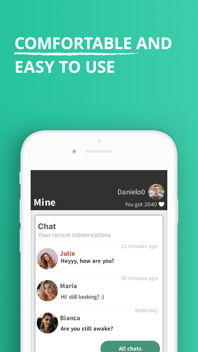 Screenshot #3 pour yoomee - Match , Chat & Dating