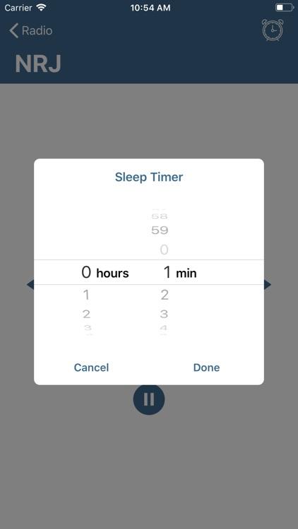 Music Radio player 24 hour/day screenshot-3