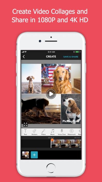 PicPlayPost Movie Video Editor screenshot-4