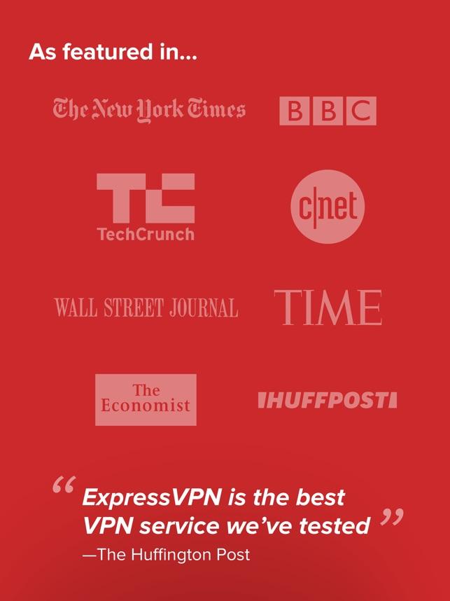 ExpressVPN: VPN Proxy for WiFi on the App Store