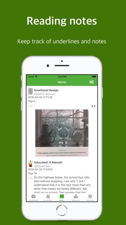 BookTree: bookshelf & note screenshot-5