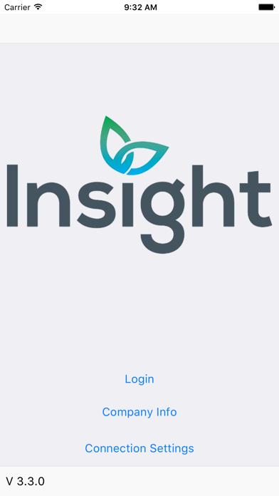 Insight Software Phone App screenshot one