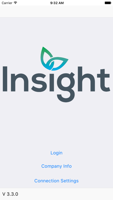 Insight Software Phone App screenshot one