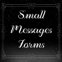 SmallMessagesForms