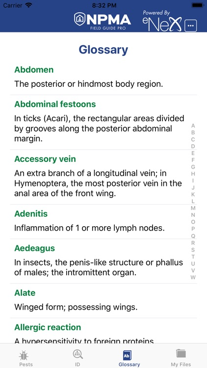 NPMA Field Guide PRO screenshot-5