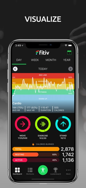 FITIV Pulse GPS Cardio Tracker on the App Store