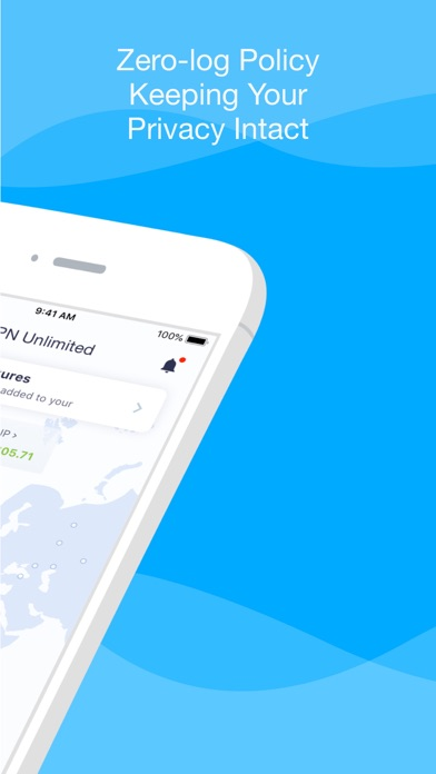 VPN Unlimited for iPhone, iPad Screenshot