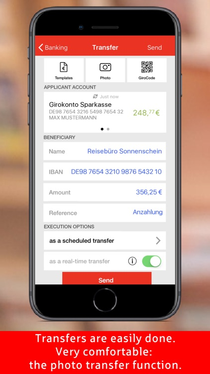 Sparkasse - Your mobile branch