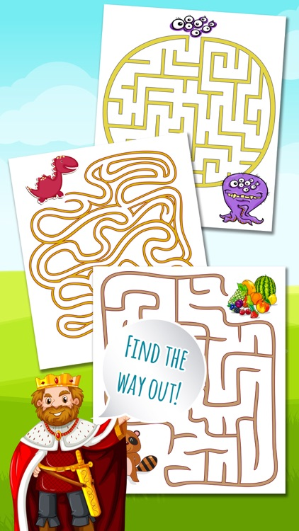 Classic Mazes - Find the Exit