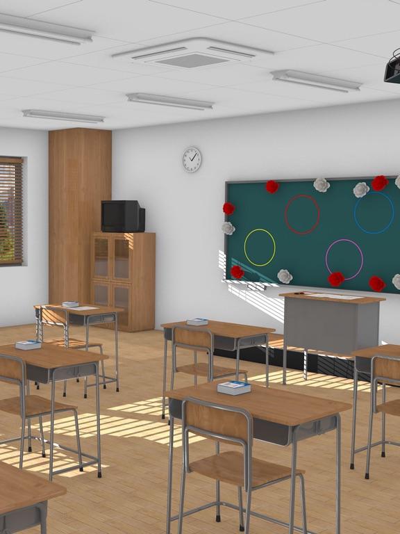 脱出ゲーム Home Room 思い出いっぱい最後の教室のおすすめ画像2