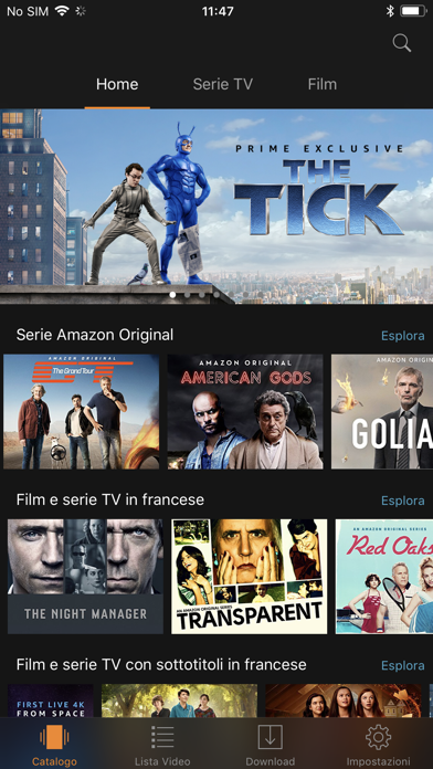 Download Amazon Prime Video per Pc