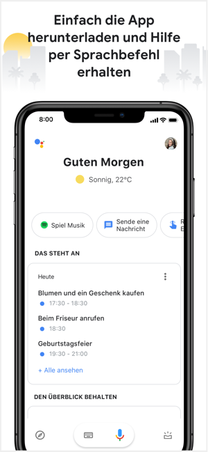‎Google Assistant Screenshot