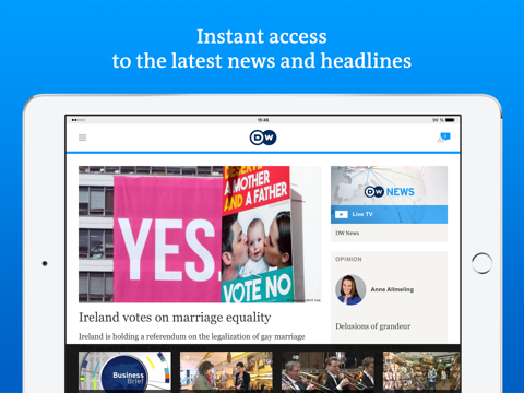 DW - Breaking World News - náhled