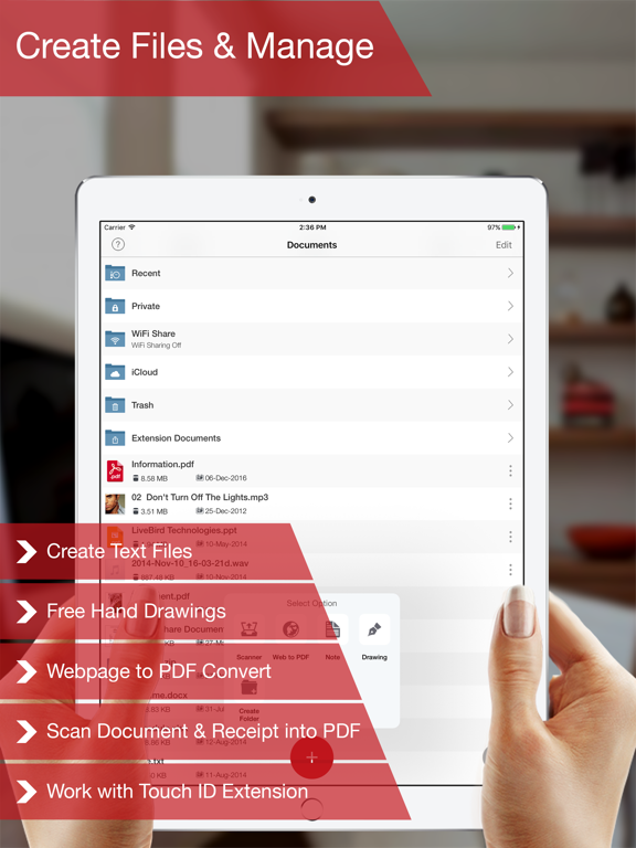 PDF Export - PDF Converter Screenshots