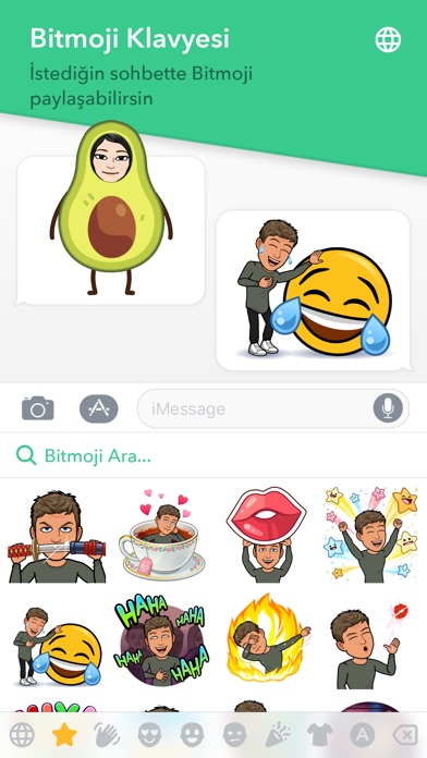 Screenshot for Bitmoji in Turkey App Store