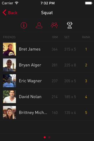 Gravitus - Workout Tracker - náhled