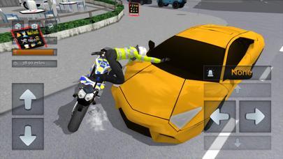 Police Motorbike Simulator 3Dلقطة شاشة3