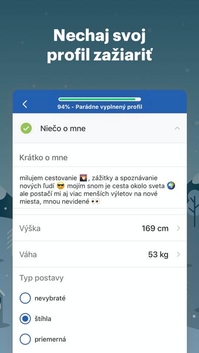 telocvičňa Zoznamka App