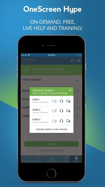OneScreen Hype screenshot-5