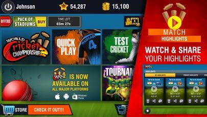 Screenshot for World Cricket Championship 2 in Pakistan App Store