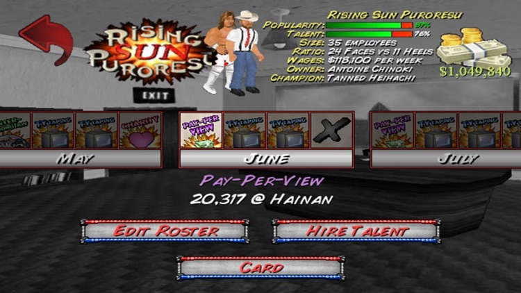 Wrestling Revolution screenshot-3