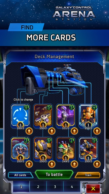 Arena: Galaxy Control screenshot-4