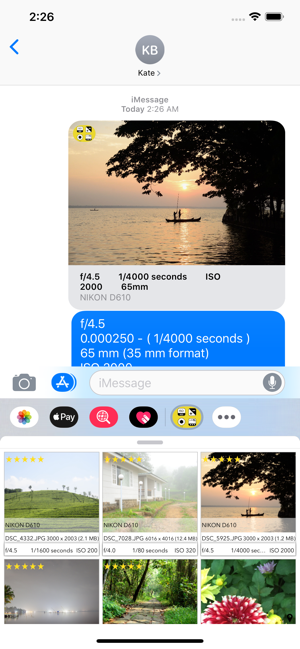 ‎EXIF Viewer by Fluntro Screenshot
