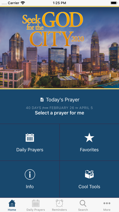 Seek God for the City 2020 screenshot 1
