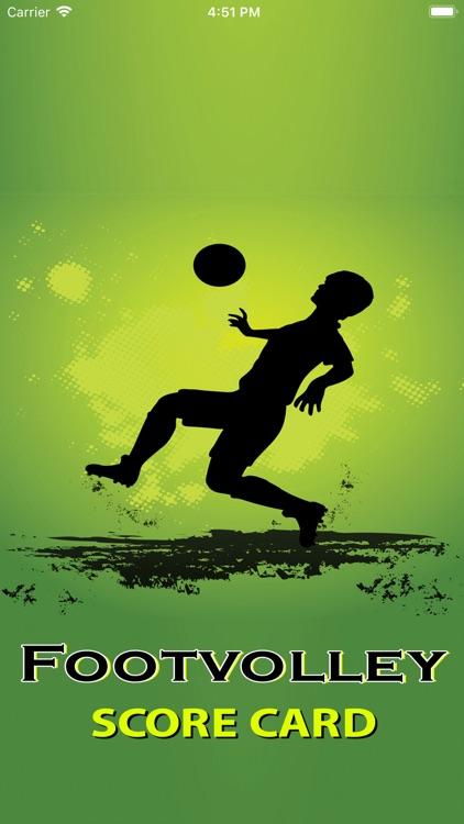 Footvolley Score Card
