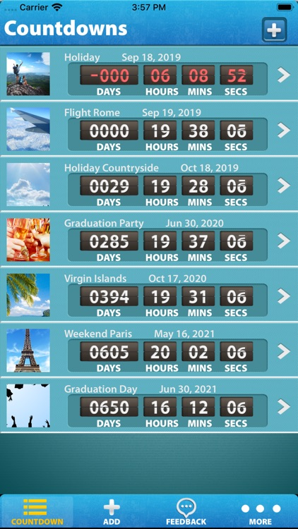Holiday and Vacation Countdown screenshot-4