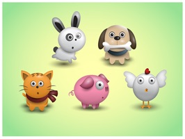 The AnimalsTL is a small sticker, which are show the 50 Animals sticker in cartoon