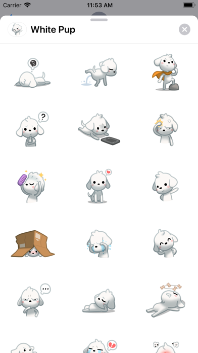 White Pup screenshot 1