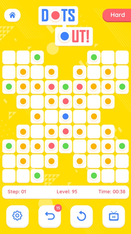 Dots Out - A puzzle Adventure screenshot-5