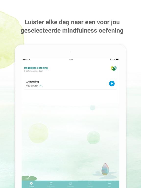 Screenshot #6 pour VGZ Mindfulness coach