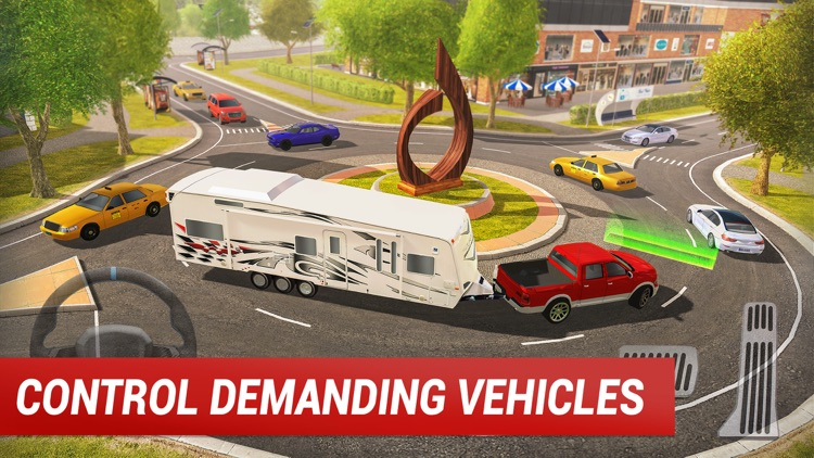 Roundabout 2: City Driving Sim