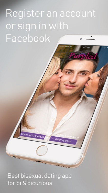 Bisexual Dating App - Purpled!
