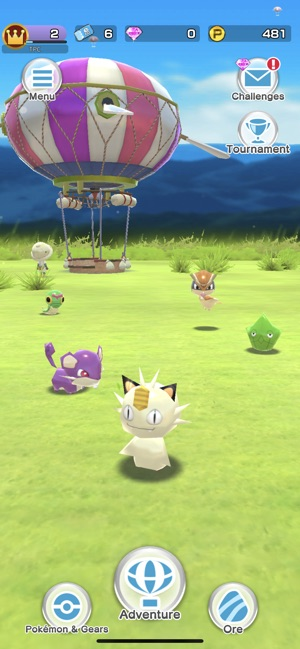 Mod Game Pokémon Rumble Rush for iOS