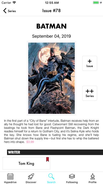 Hypedrive: New Comics Guide screenshot two