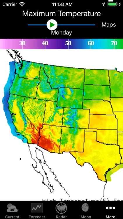 NOAA Weather screenshot-7