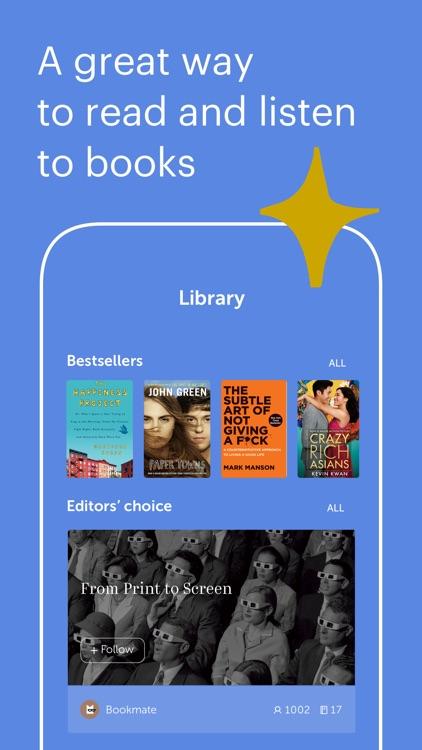 Bookmate: Read. Listen. Enjoy.