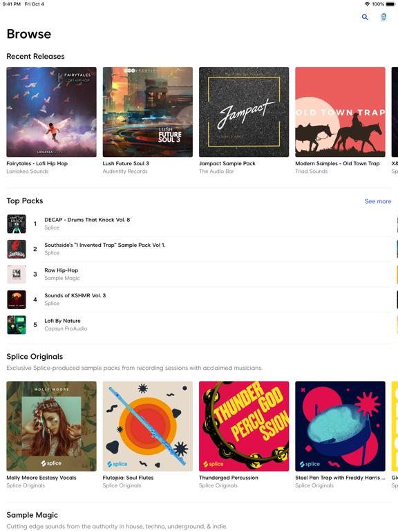 Splice - Music Made screenshot