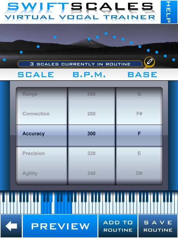 SWIFTSCALES Vocal Trainer - Learn to sing, warm up, and train your voice with your own virtual vocal coach. screenshot