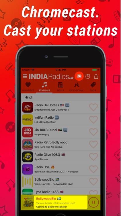 India Radios HD screenshot-4
