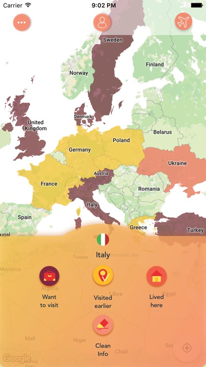 ScratchMap: record your trips screenshot-0