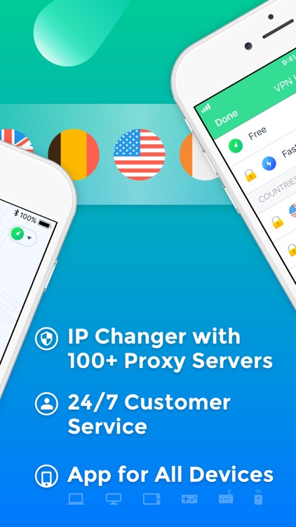 Air VPN - VPN Proxy for iPhone