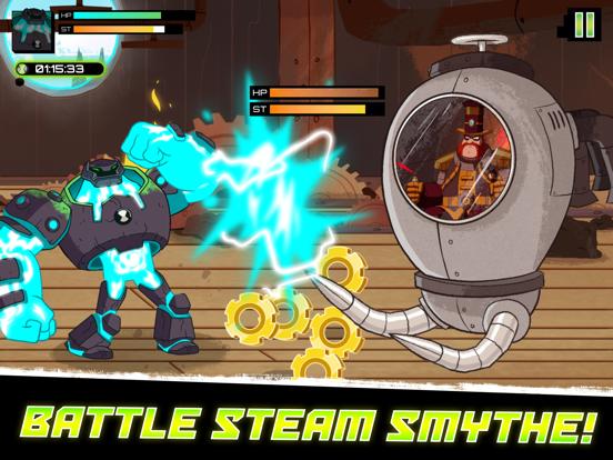 Omnitrix Assault tablet App screenshot 5