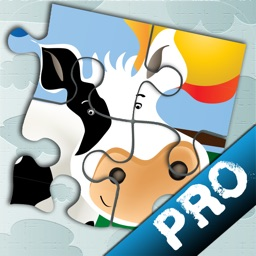 Animal Jigsaw Puzzle: Farm PRO