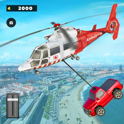 Flying Copter Army Rescue
